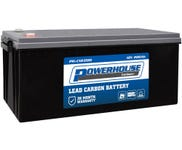 Powerhouse Carbon + 12V 200Ah C20